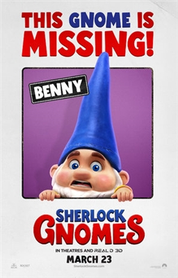 Gnomeo & Juliet: Sherlock Gnomes poster #1520412