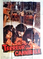 Terreur cannibale movie poster