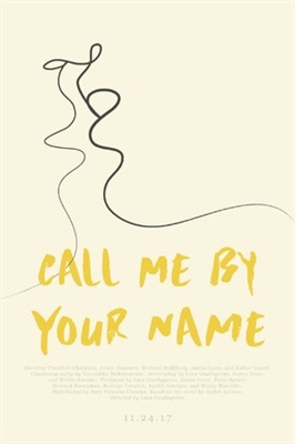 Call Me by Your Name poster #1521063