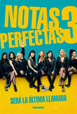 Pitch Perfect 3 poster #1522075