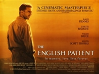 The English Patient movie poster