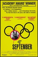 One Day in September movie poster