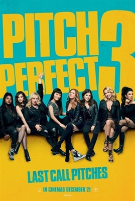 Pitch Perfect 3 poster #1527636