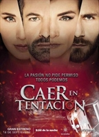 Caer en tentación movie poster