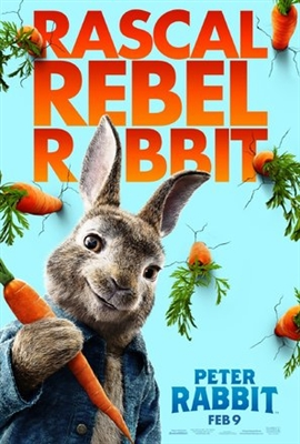 Peter Rabbit poster #1530360
