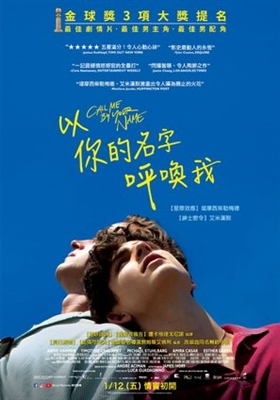 Call Me by Your Name poster #1531472