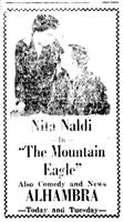The Mountain Eagle movie poster