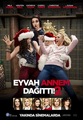 A Bad Moms Christmas Movie Poster.A Bad Moms Christmas Poster