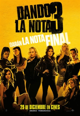 Pitch Perfect 3 poster #1532552