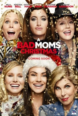 A Bad Moms Christmas poster #1532828