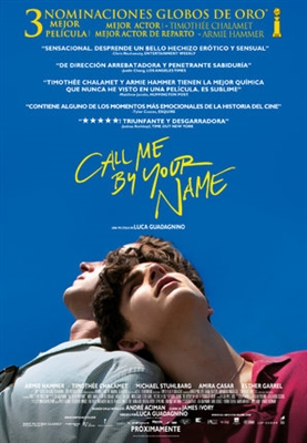 Call Me by Your Name poster #1533481