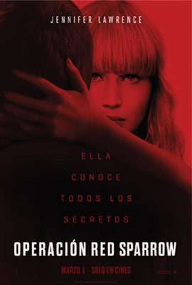 Red Sparrow poster #1534450