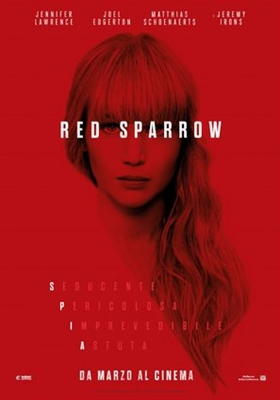 Red Sparrow poster #1535306