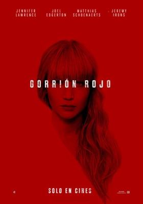 Red Sparrow poster #1535995