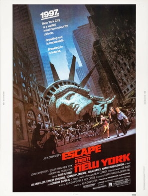 Escape From New York poster #1537524