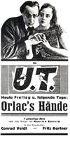 Orlacs Hände movie poster