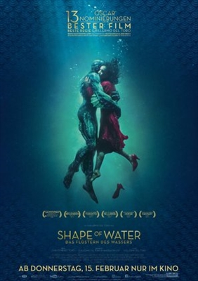 The Shape of Water poster #1538415