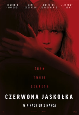 Red Sparrow poster #1539206