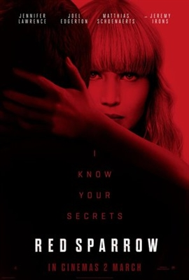 Red Sparrow poster #1540074
