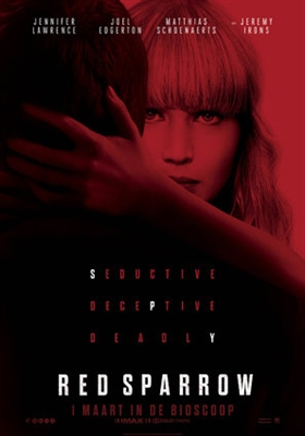 Red Sparrow poster #1540076