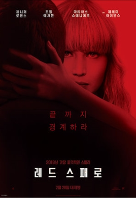 Red Sparrow poster #1540077