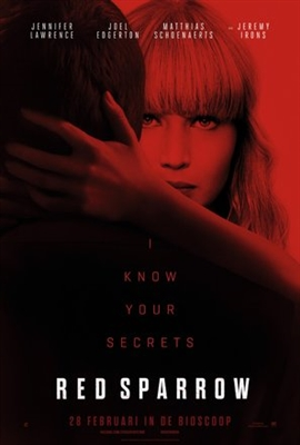 Red Sparrow poster #1540079