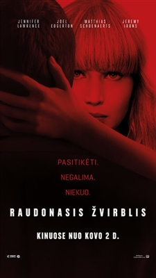 Red Sparrow poster #1540081