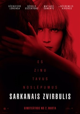 Red Sparrow poster #1540082
