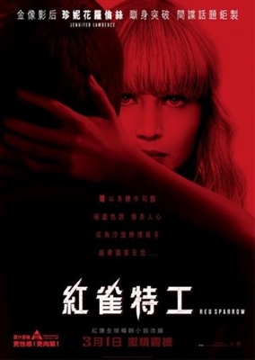 Red Sparrow poster #1540115
