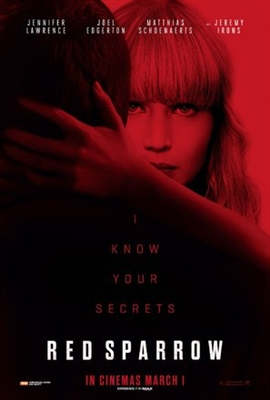 Red Sparrow poster #1540263