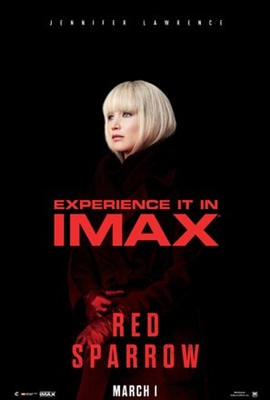 Red Sparrow poster #1540264