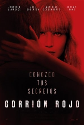 Red Sparrow poster #1540272