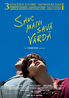 Call Me by Your Name poster #1540443