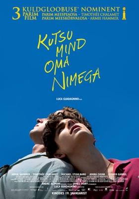 Call Me by Your Name poster #1540838