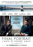 Final Portrait movie poster