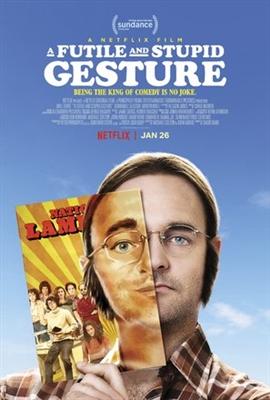 A Futile & Stupid Gesture poster #1541113