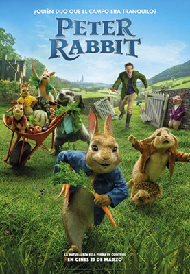 Peter Rabbit poster #1542284