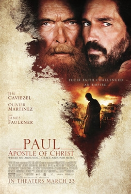 Paul, Apostle of Christ poster #1543230