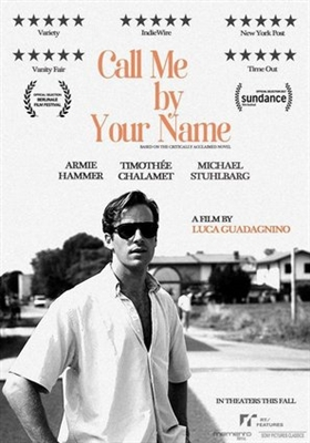 Call Me By Your Name Movie Poster 1543942 Movieposters2com