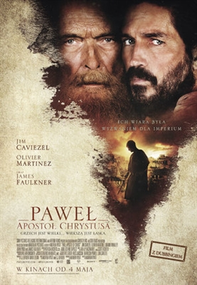 Paul, Apostle of Christ poster #1544190