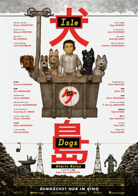 Isle of Dogs poster #1544201