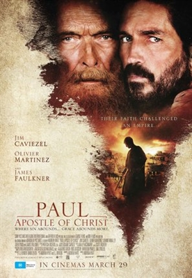 Paul, Apostle of Christ poster #1546520