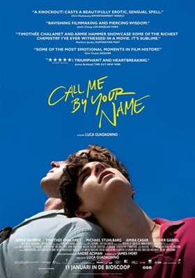 Call Me by Your Name poster #1549429