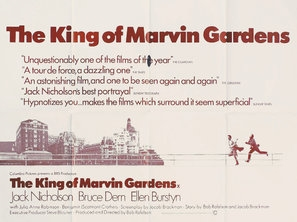 The King of Marvin Gardens poster #1555138