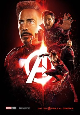 Avengers: Infinity War  poster #1560738
