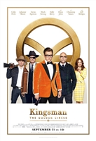 Kingsman: The Golden Circle  movie poster