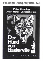 The Hound of the Baskervilles movie poster