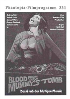 Blood from the Mummy's Tomb movie poster