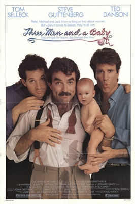 Three Men and a Baby poster #1567739