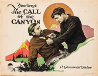 The Call of the Canyon movie poster